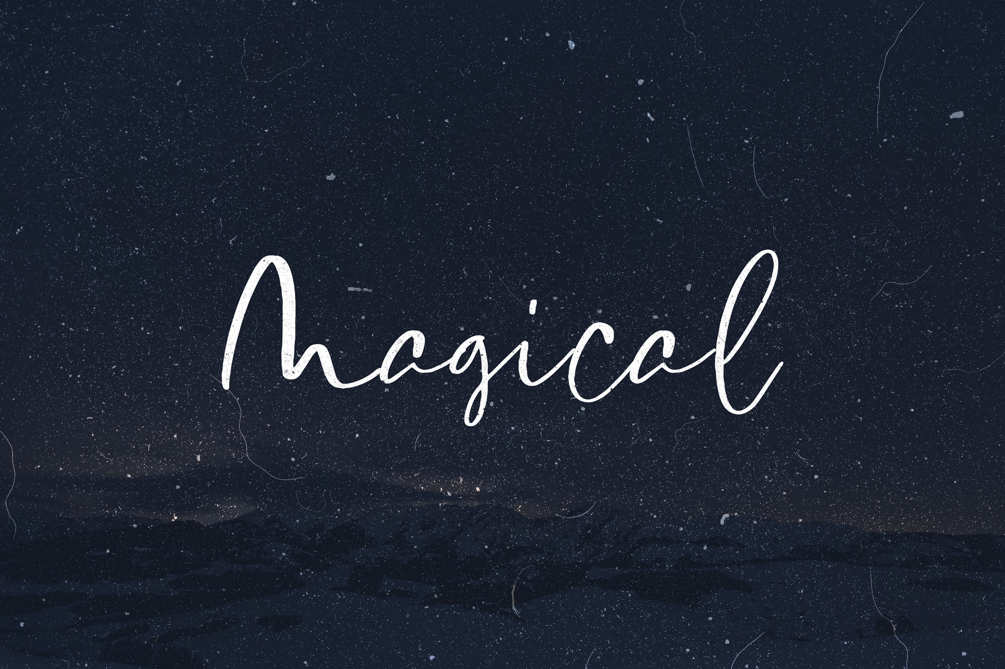 Magical Font Set example image 1