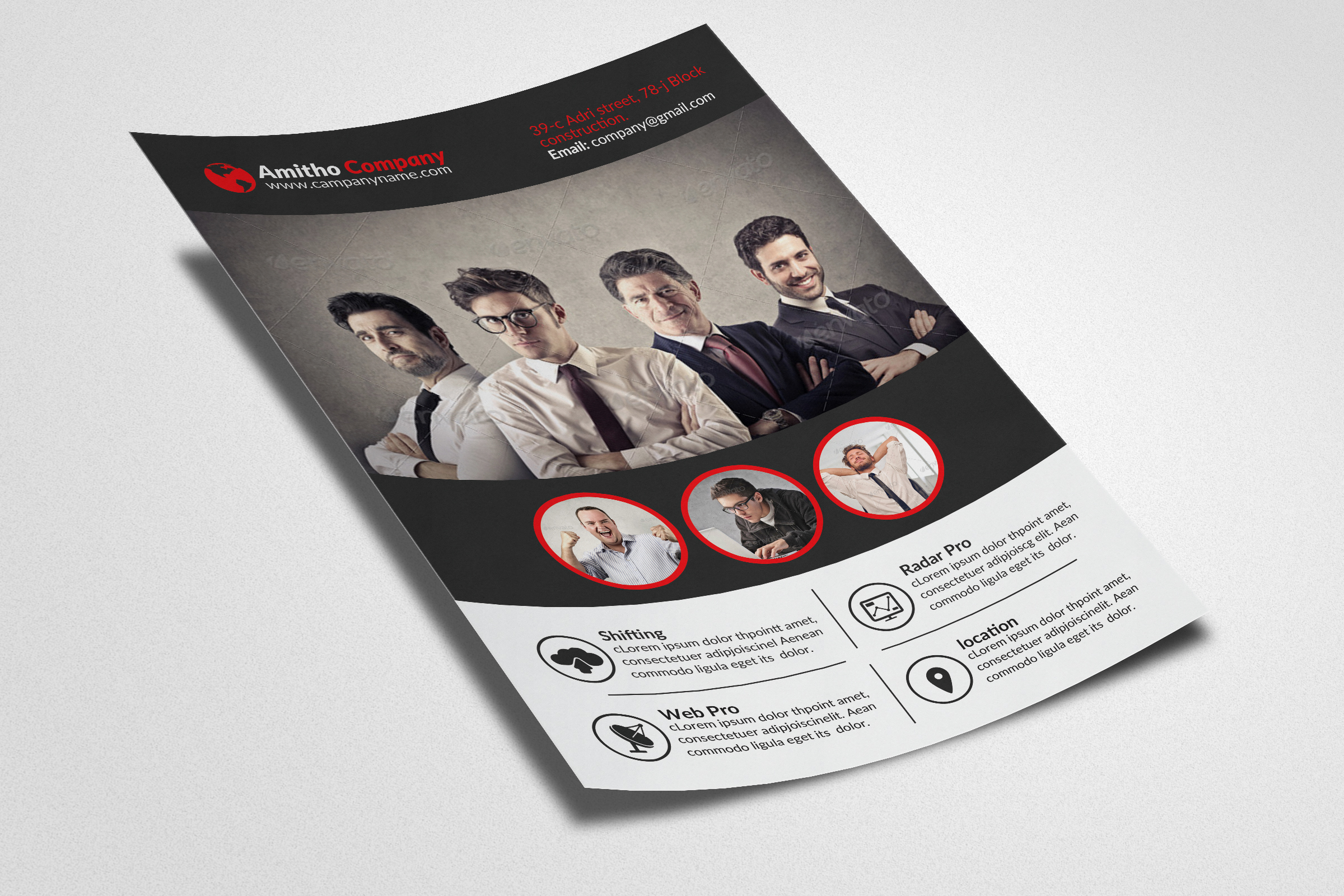 Human Resources Management Consulting Flyer example image 2