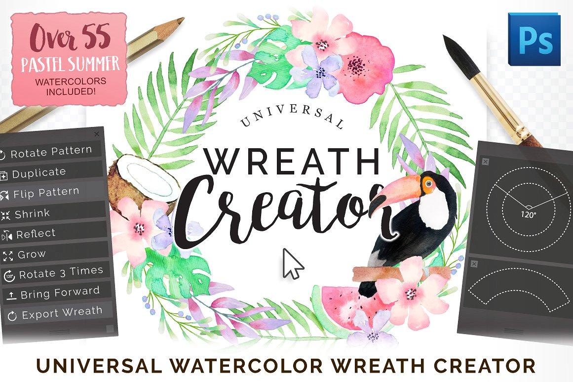 Universal Wreath Creator Pro example image 1