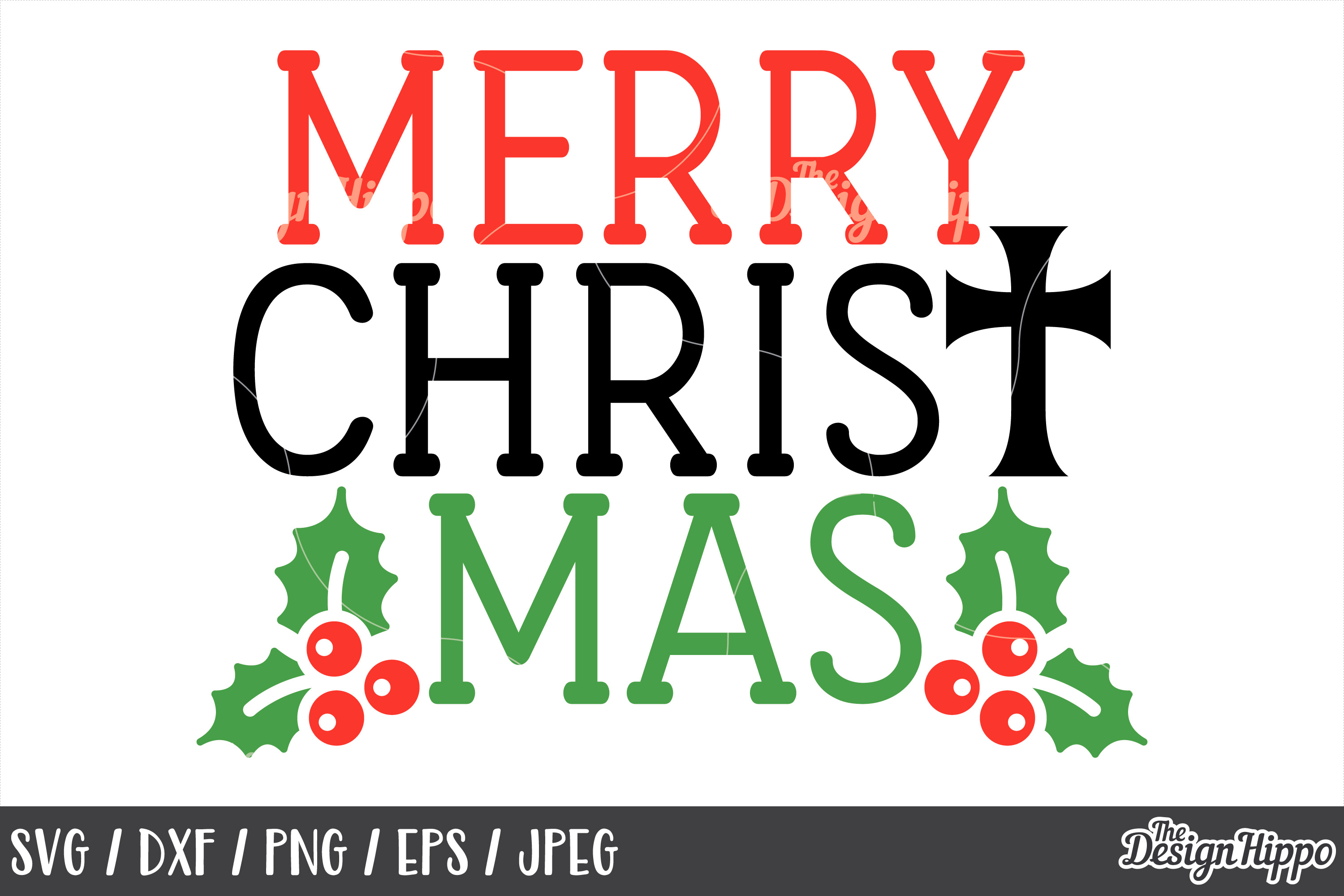 Merry Christmas SVG Bundle, Christmas SVG, PNG, DXF Cut File example image 5