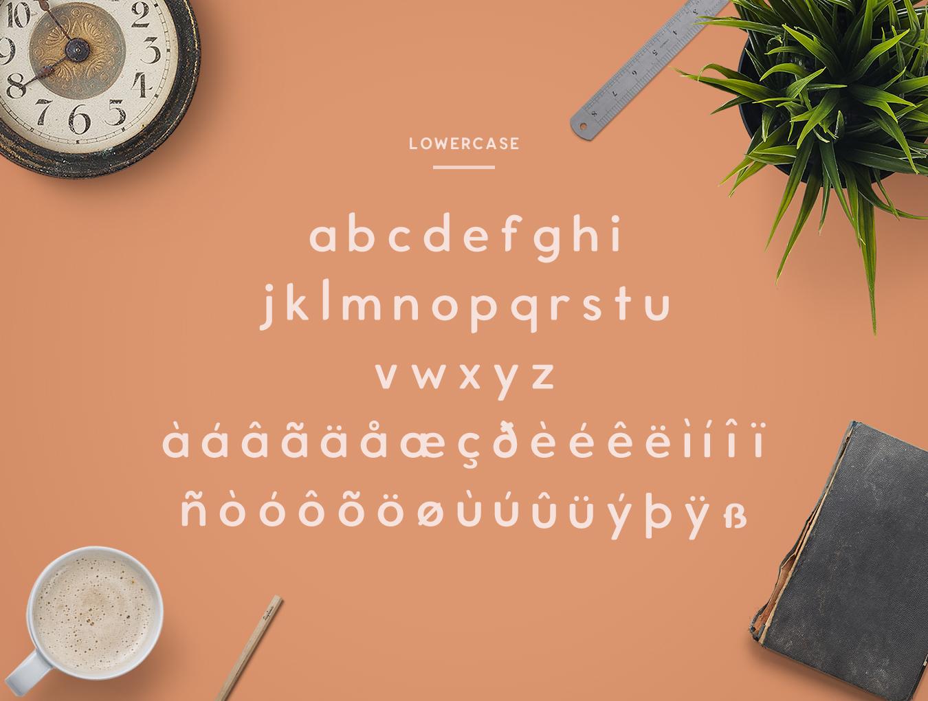 Enriq Round Sans Serif Font example image 3