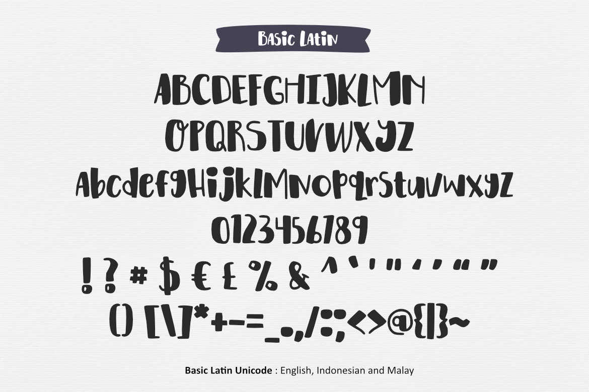 Happy Kids Font example image 2