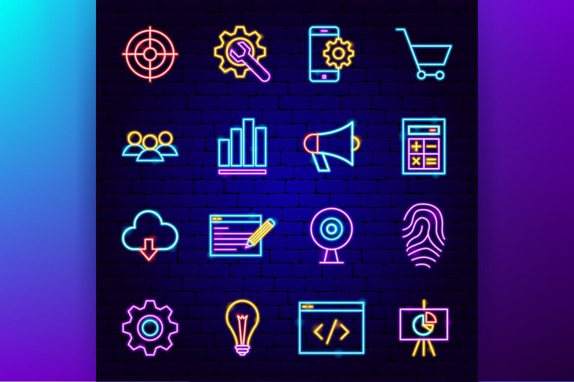 Web Development Neon example image 2