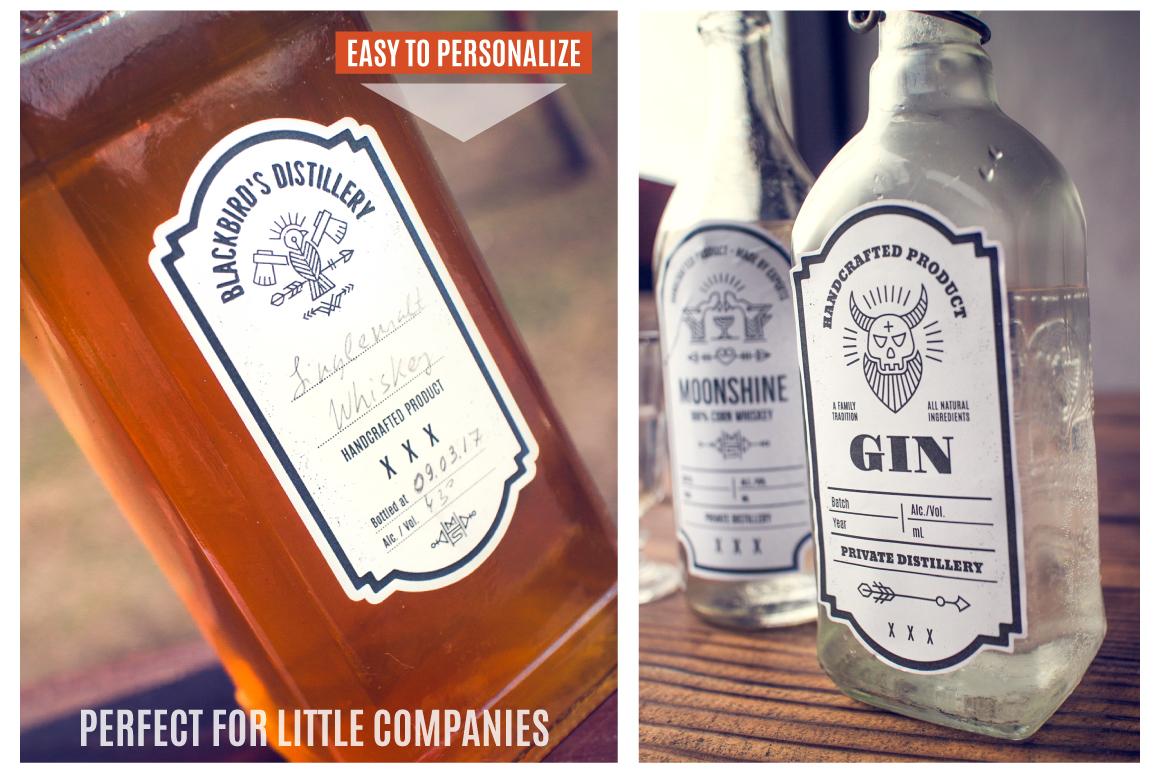 Distilling Industry: Vintage Labels example image 5