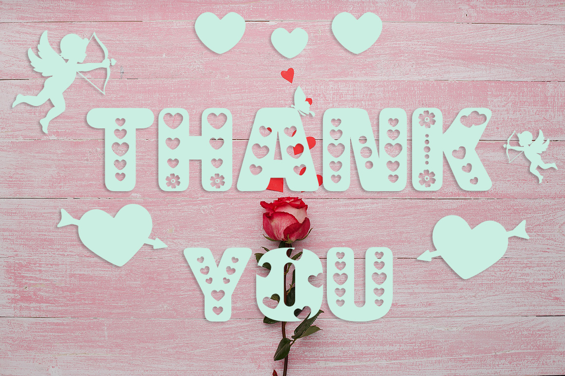 Crazy Love: A Valentine Edition Font example image 4
