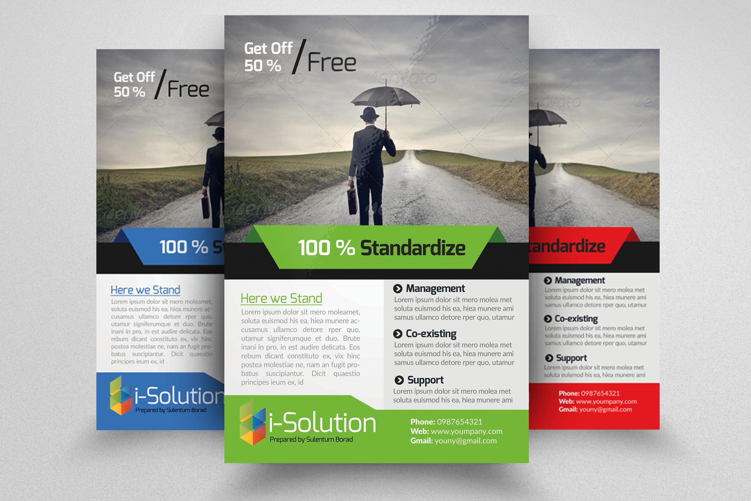 7 Corporate Business Flyers Bundle example image 6