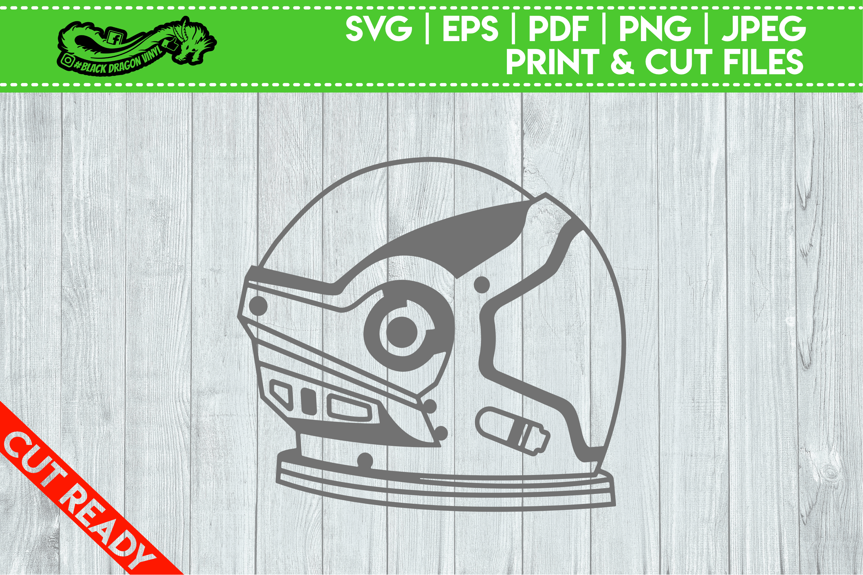 Astronaut Space Helmet example image 1