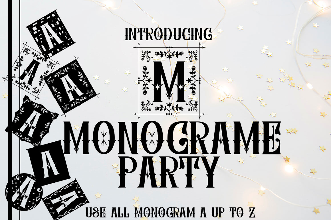 MONOGRAME PARTY example image 1