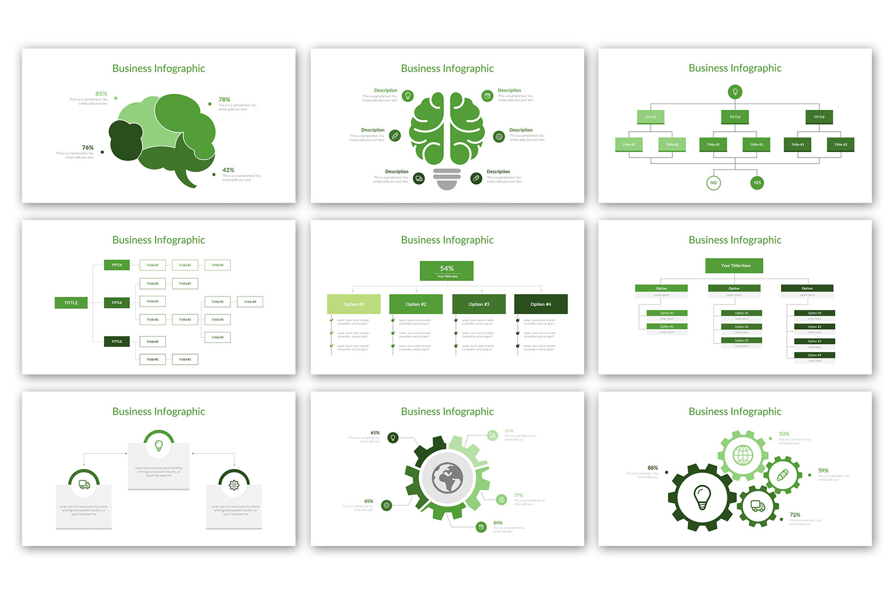Modern Business Presentation Template example image 16