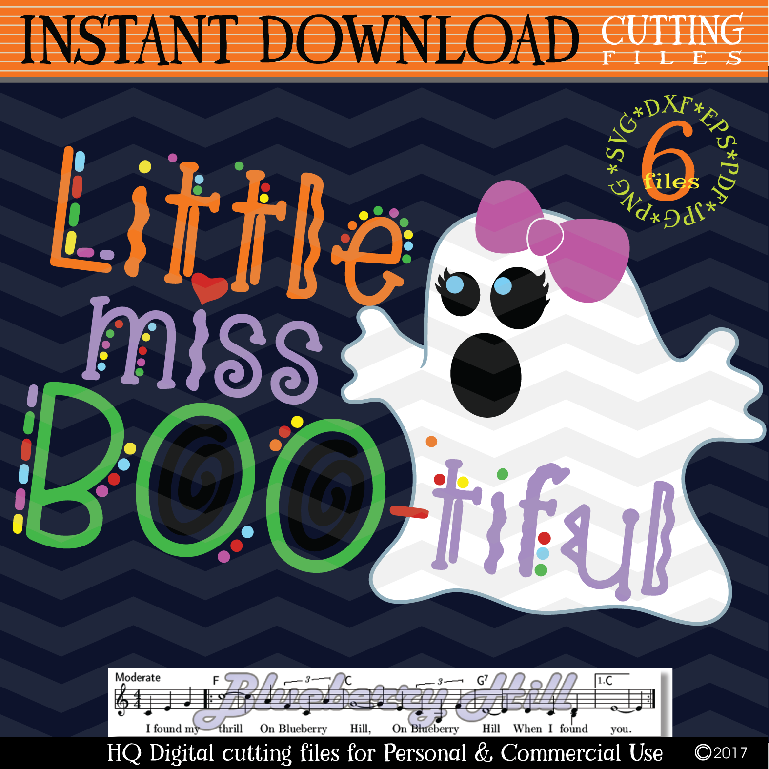 Little Miss Boo svg Girls Halloween svg cutting files example image 1