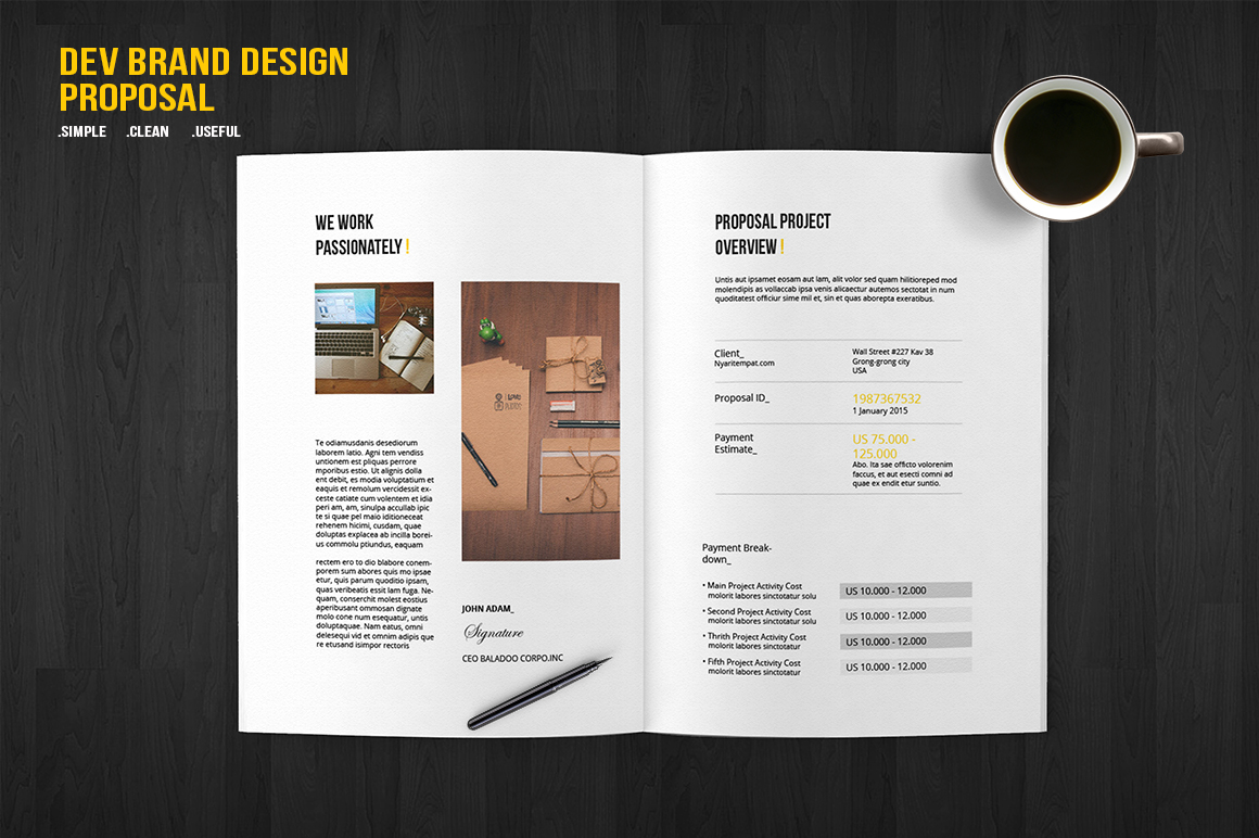 Brand Licensing Proposal Template 28 Images Business Plan For