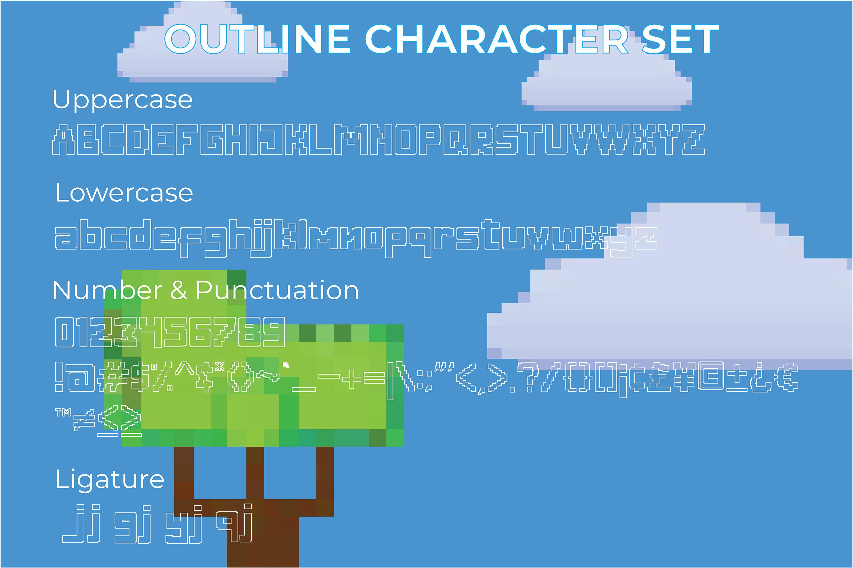 Digitizer - Pixel Font Family example image 6