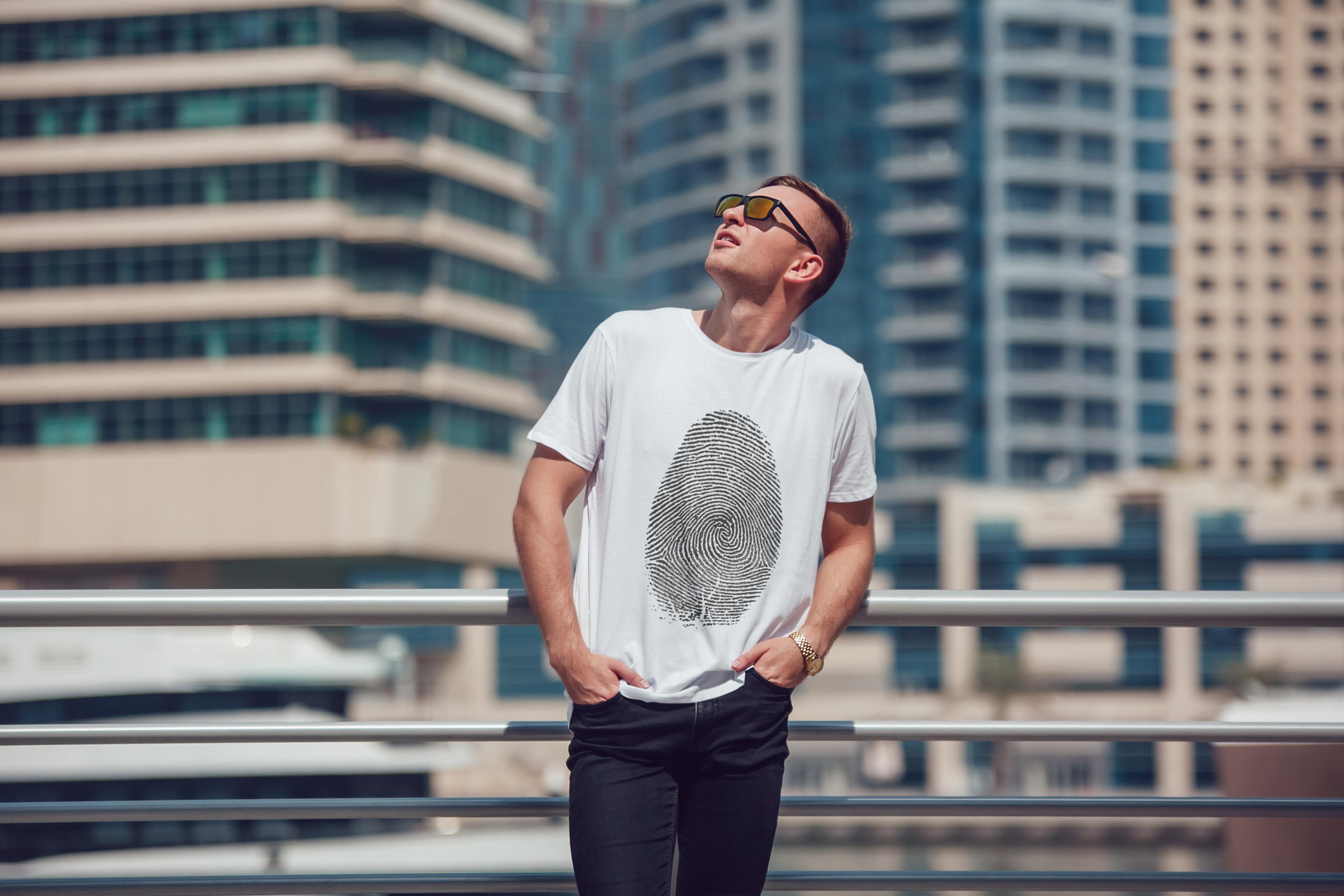 Men's T-Shirt Mock-Up Vol.5 2017 example image 6