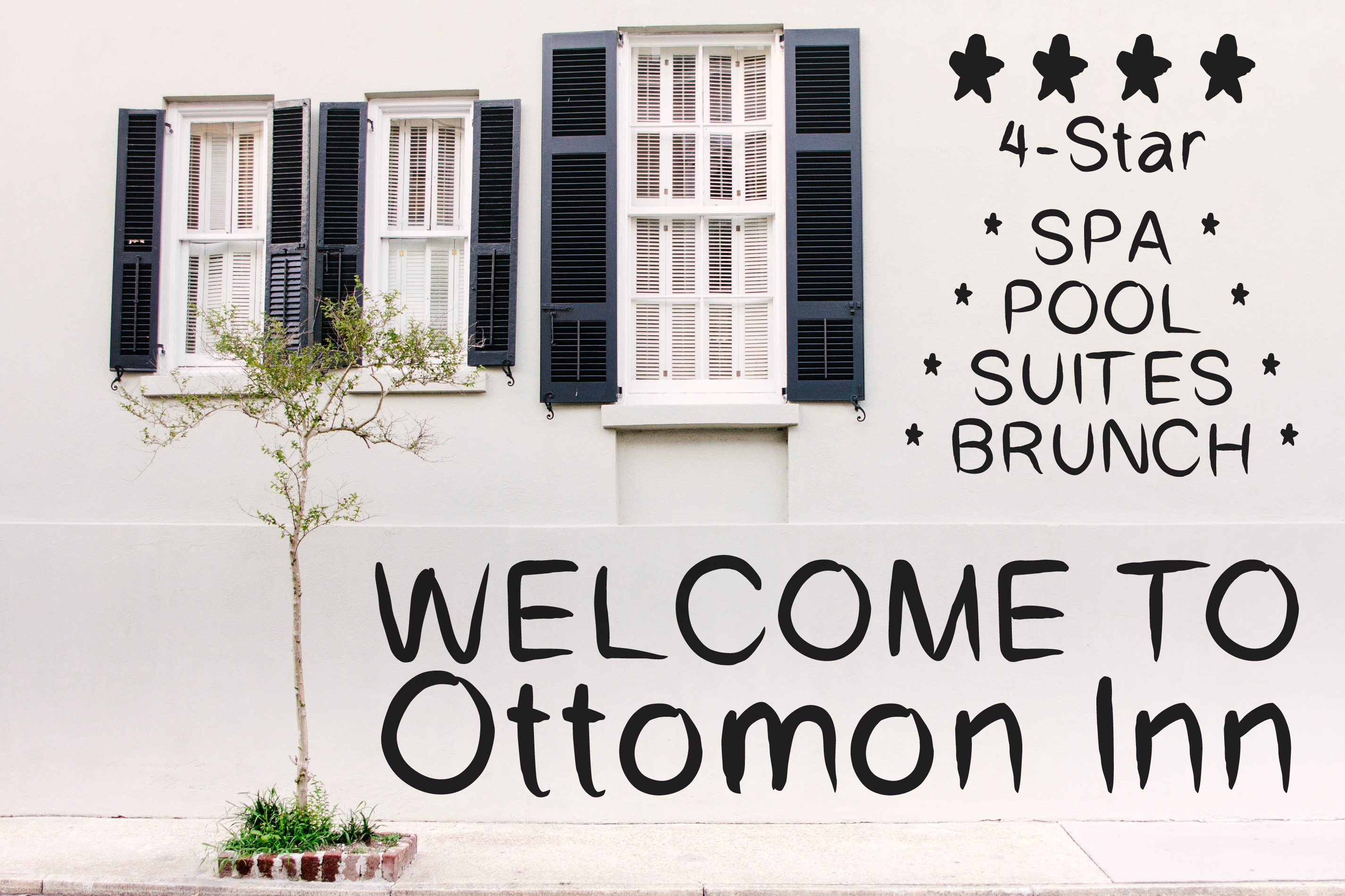 Ottomon Handwritten Brush Font example image 5