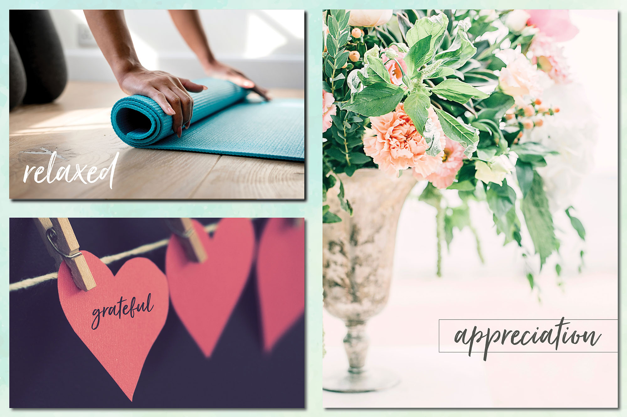 Social Media Overlays Bundle - 712 Black and White Words example image 20