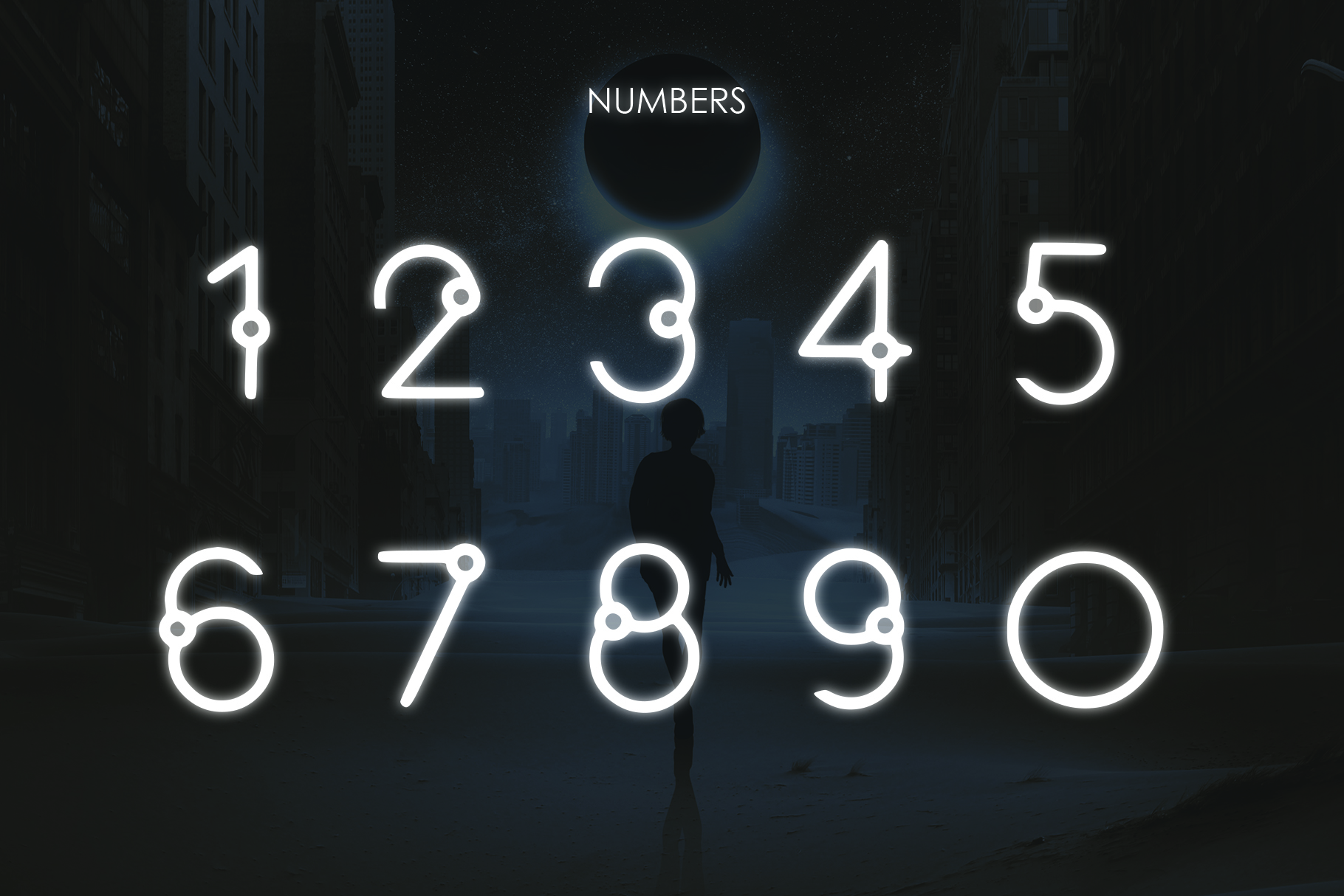 EQUINOX - A Font for the Space Age example image 5