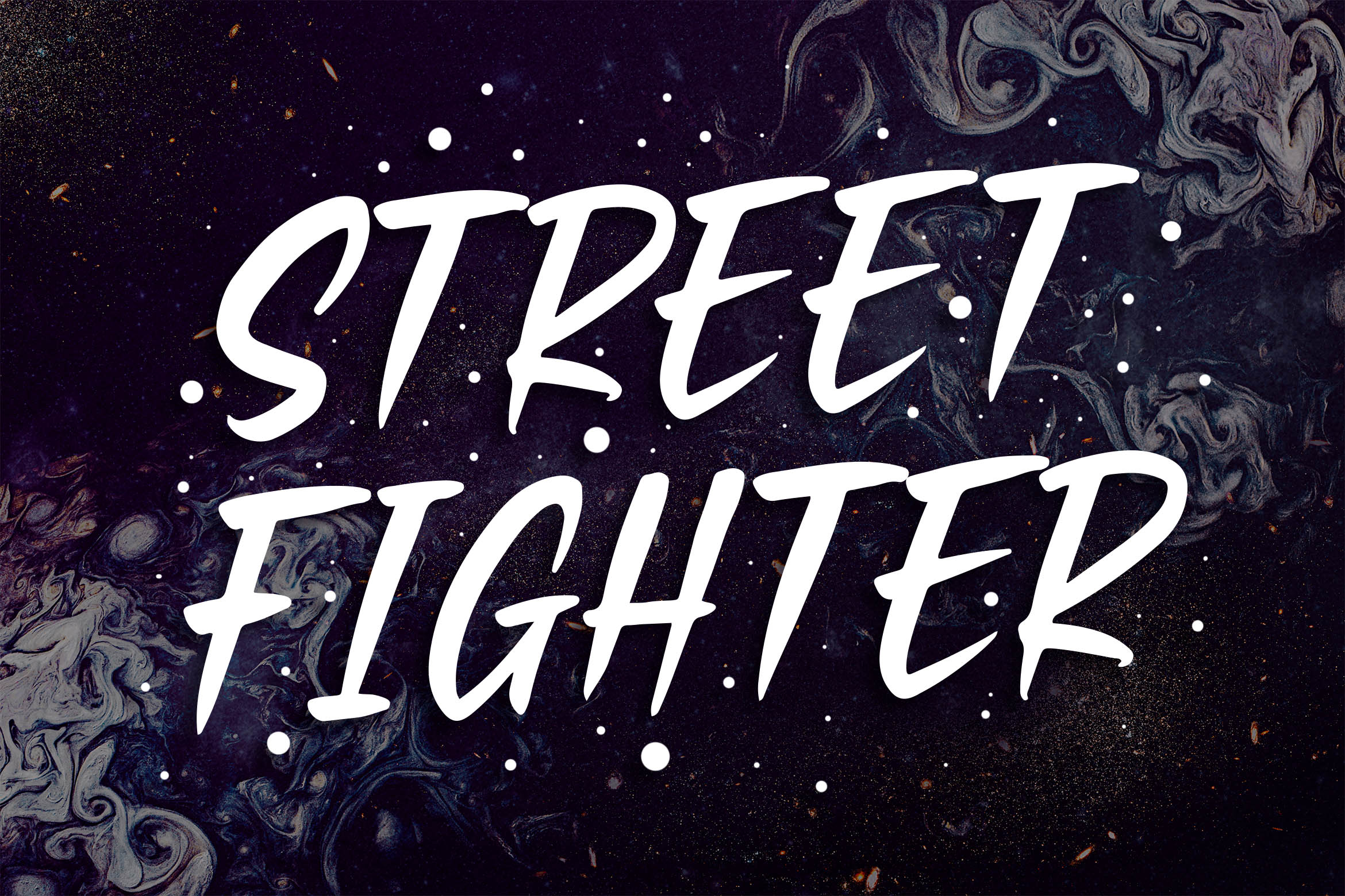 Black Fearnest - Strong Handwritten Font example image 4