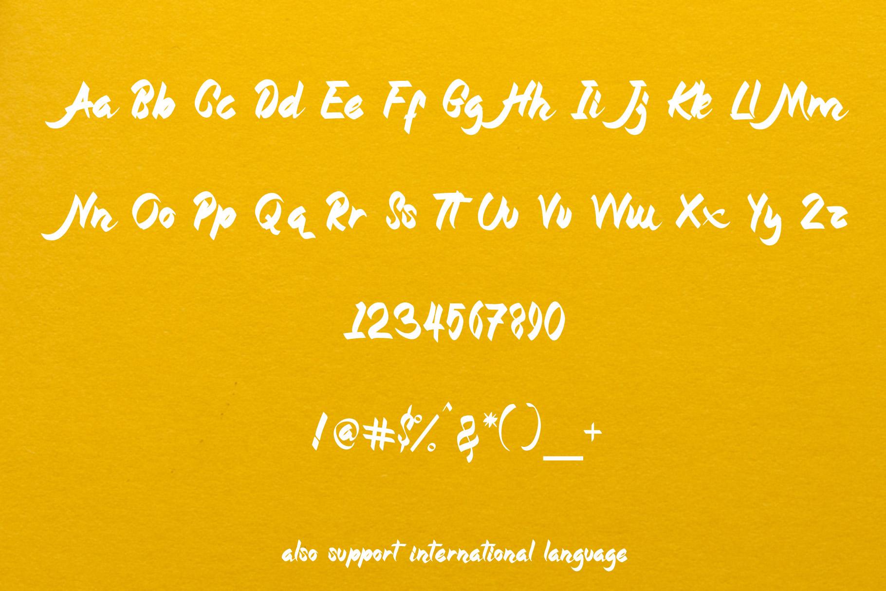 Magnolia - Callygraphic Font example image 6