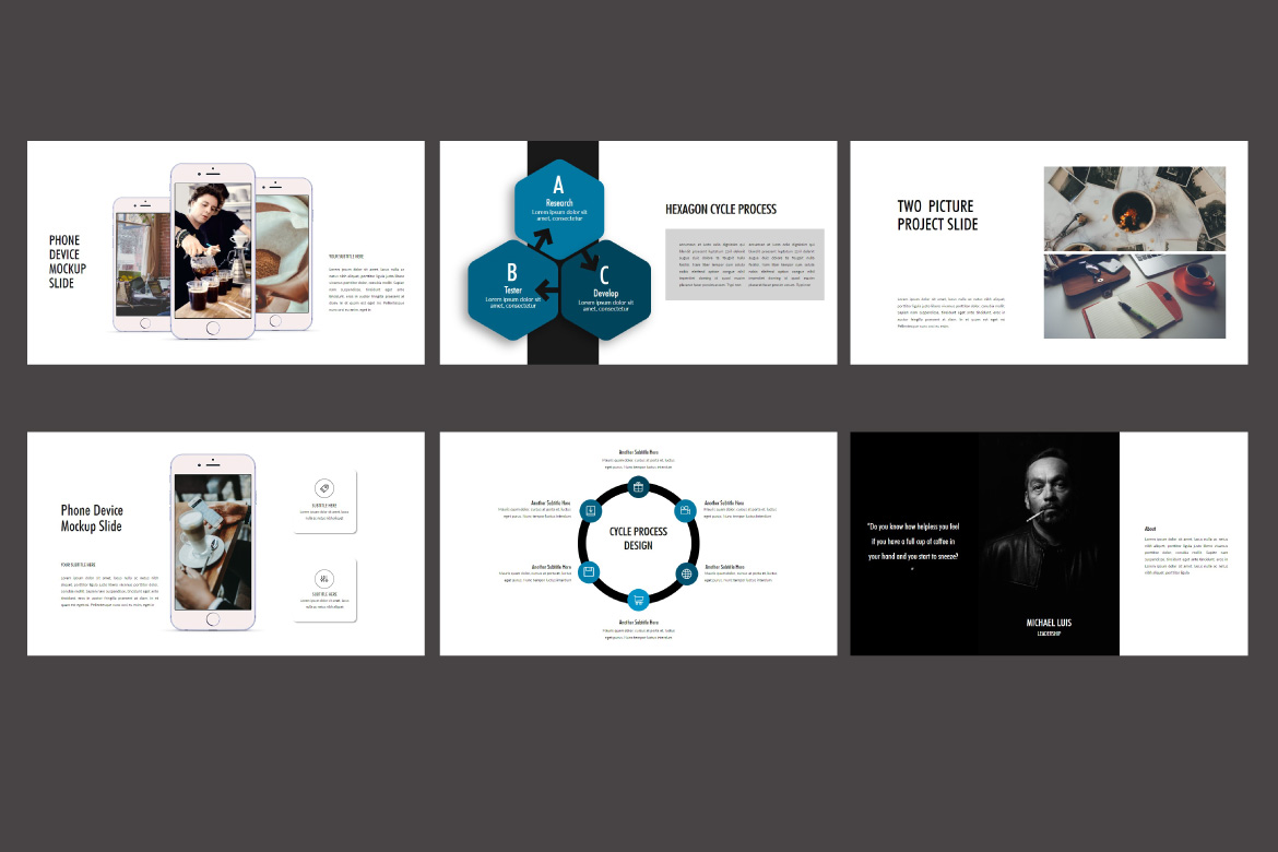 Roasting - Creative Powerpoint Template example image 4