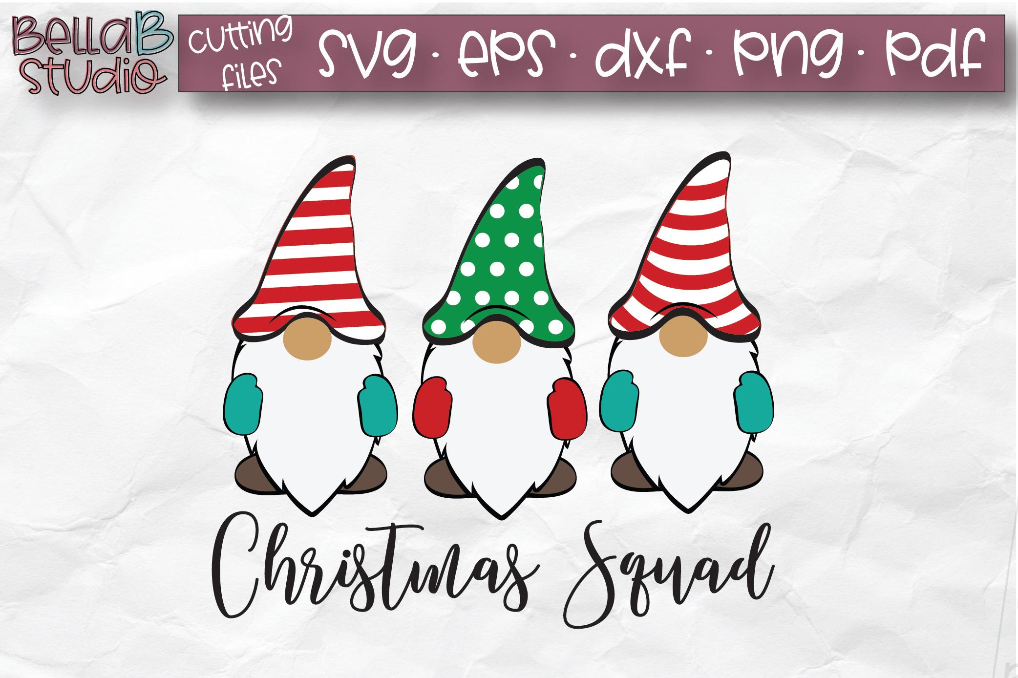 Christmas Gnomes Svg.Christmas Gnomes Svg Christmas Squad Svg Cut File