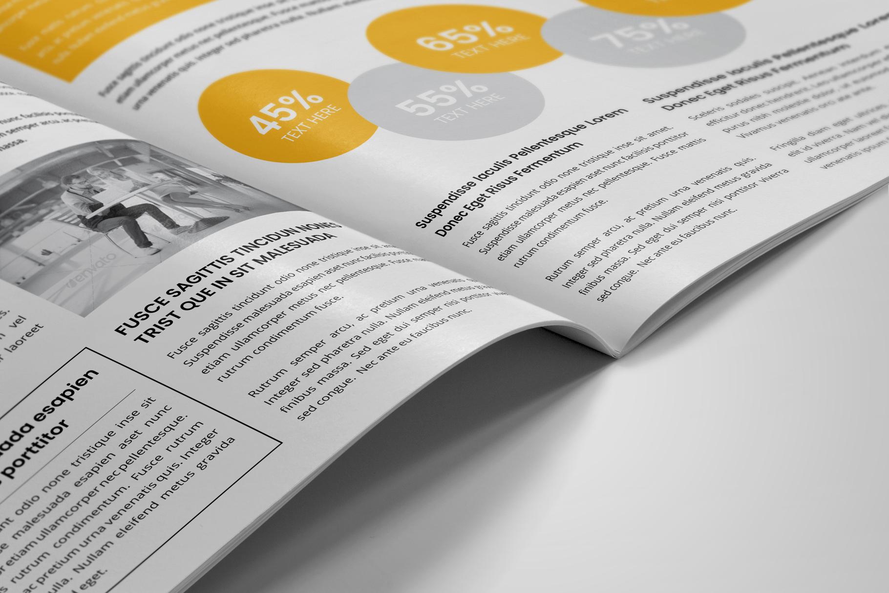 Company Profile Brochure v7 example image 5