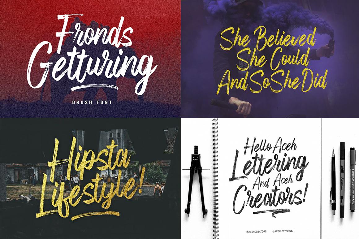 The amazing fonts bundle example image 2