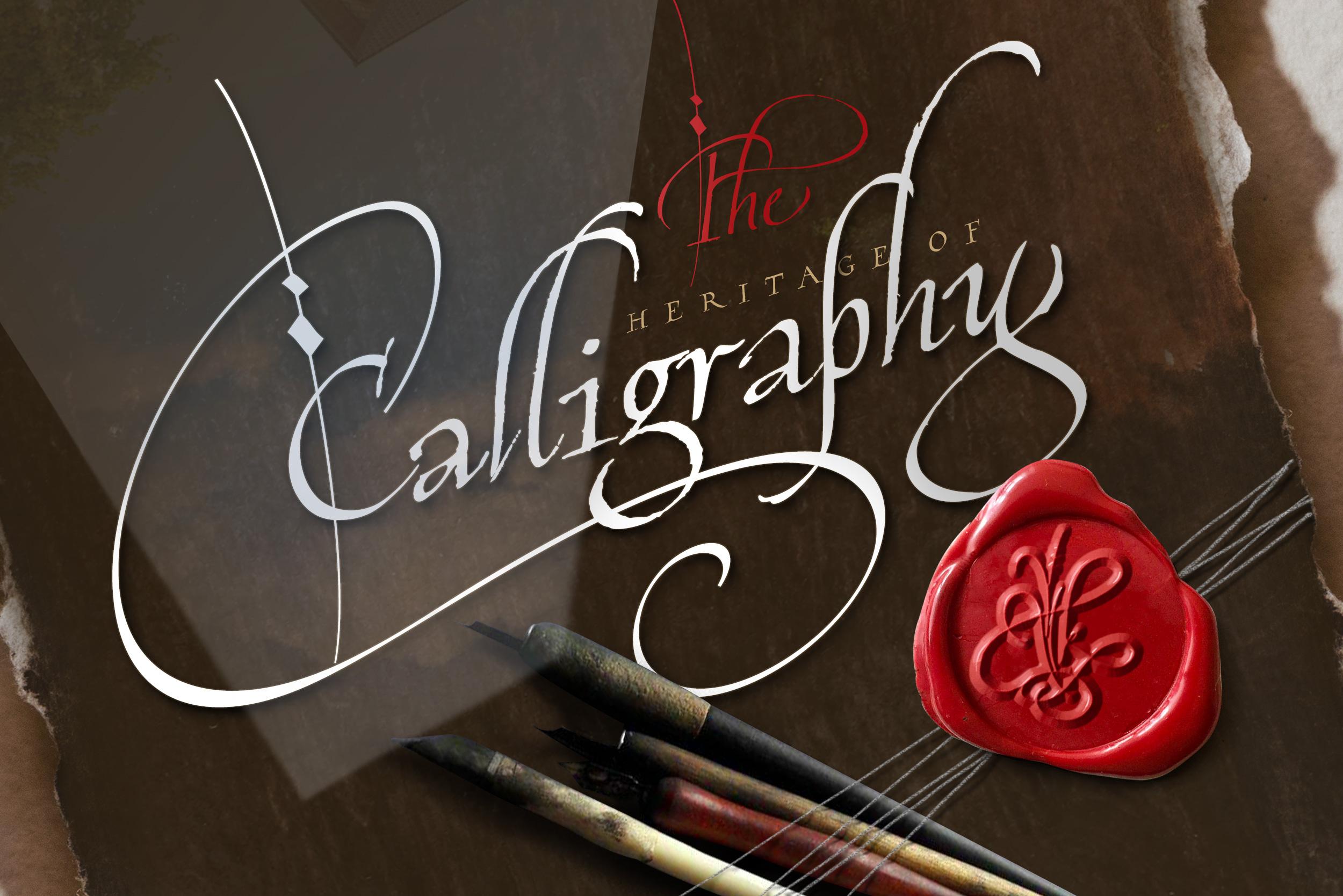 Cardinal - Italic script trio example image 4