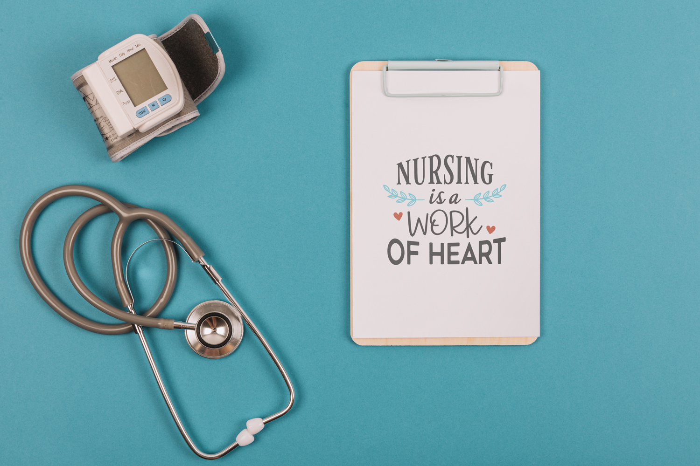SALE! 20 nurse quotes bundle, quote sign svg, nurse svg example image 4