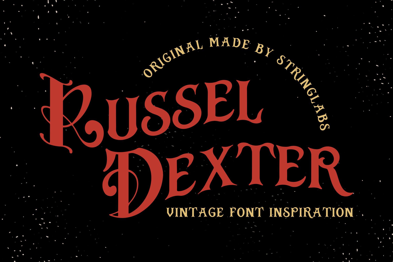 Russel Dexter - Retro Vintage Script Font example image 1