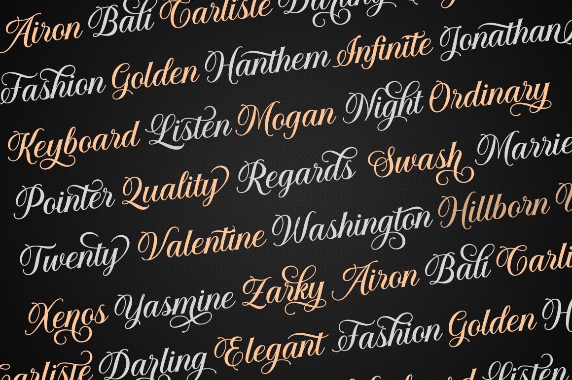 Solistaria-Elegant Calligraphy Font example image 8