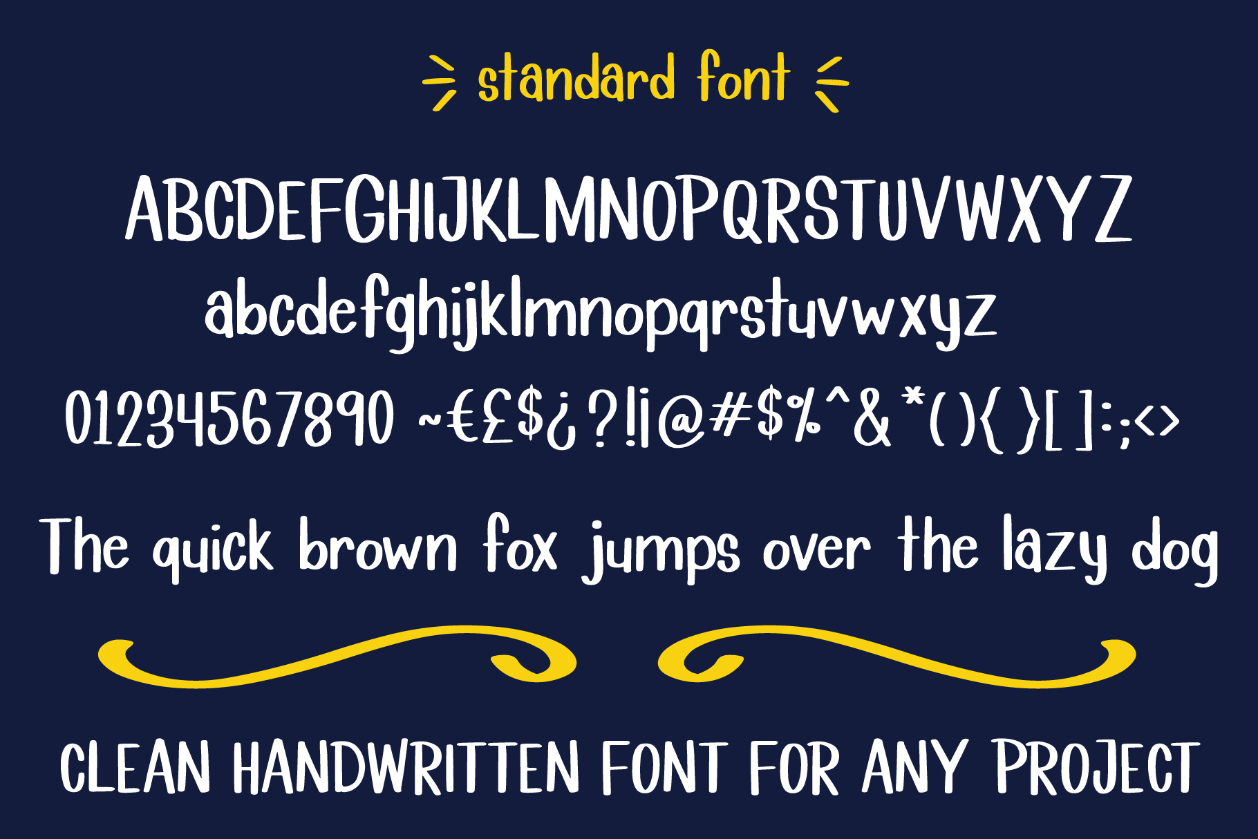 Lemon Lime Octopie Font Duo example image 4