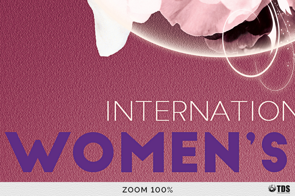 Womens Day Flyer Template V1 example image 8