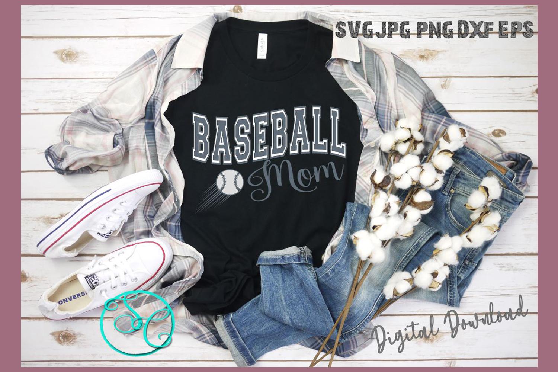 Baseball Mom SVG example image 1