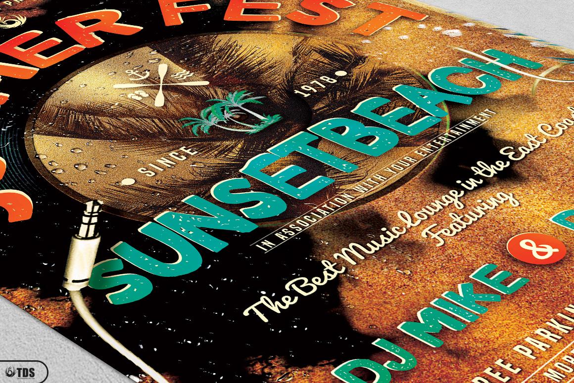 Summer Fest Flyer Bundle example image 8