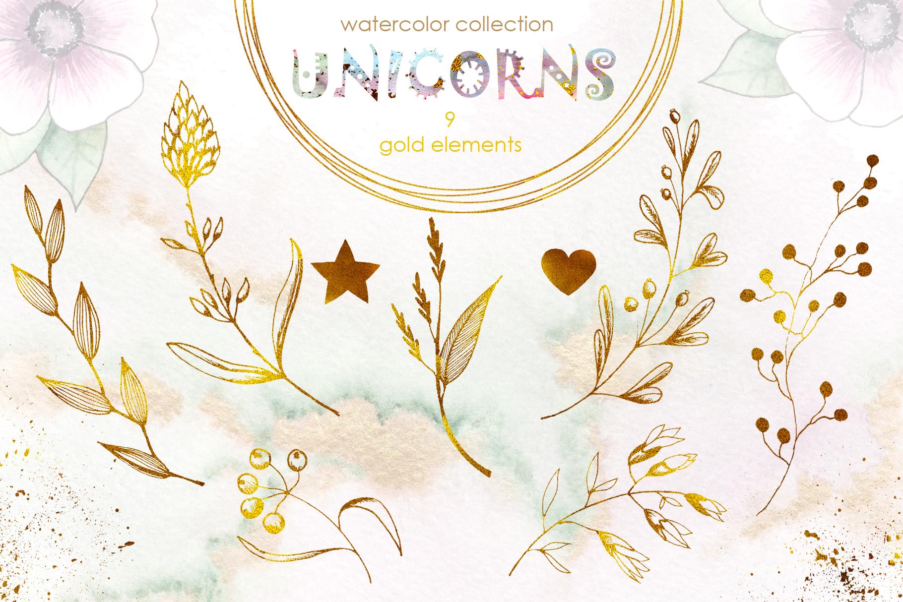 Charming Unicorns Bundle example image 21