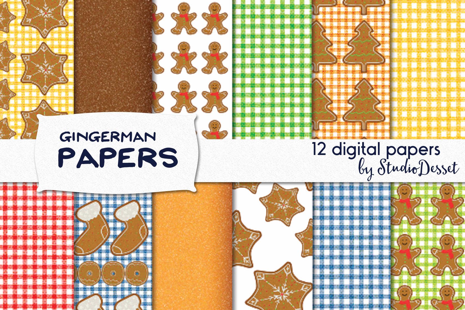 Gingerman Design Bundle - Letters, Numbers, Illustrations example image 4