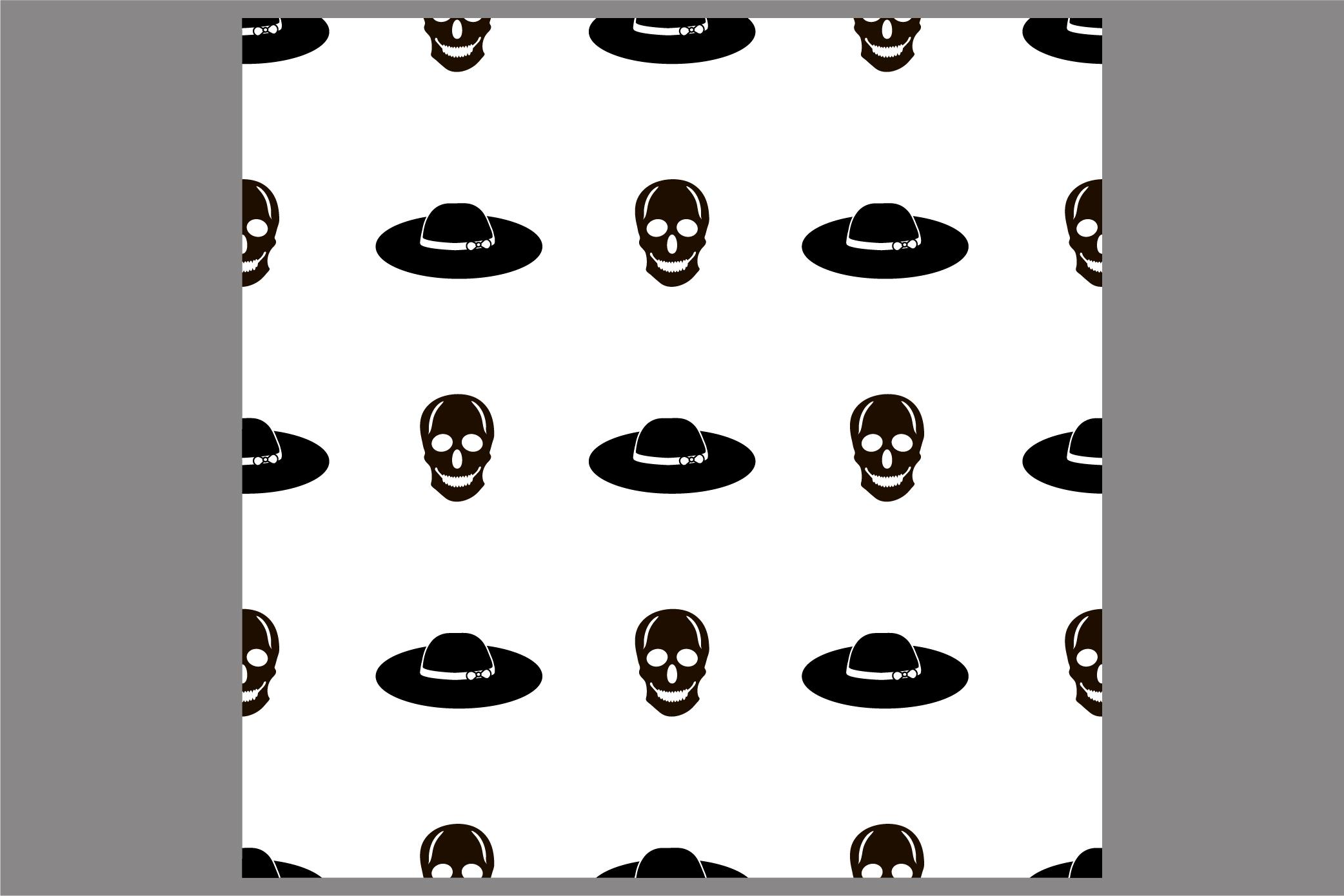 Halloween seamless patterns. Ai, EPS10, JPG, SVG example image 2