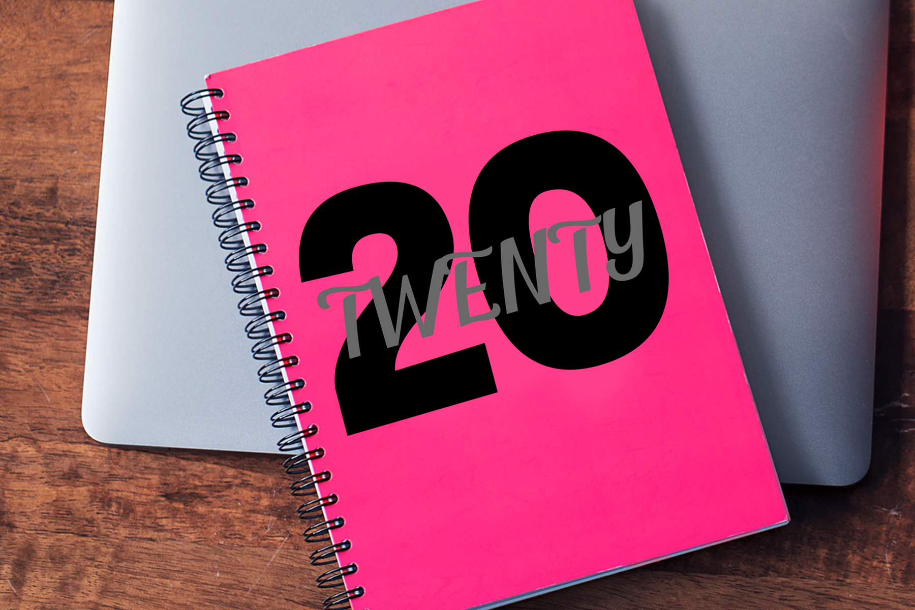 2020, A 20 Twenty New Year SVG Cut or Print File example image 2