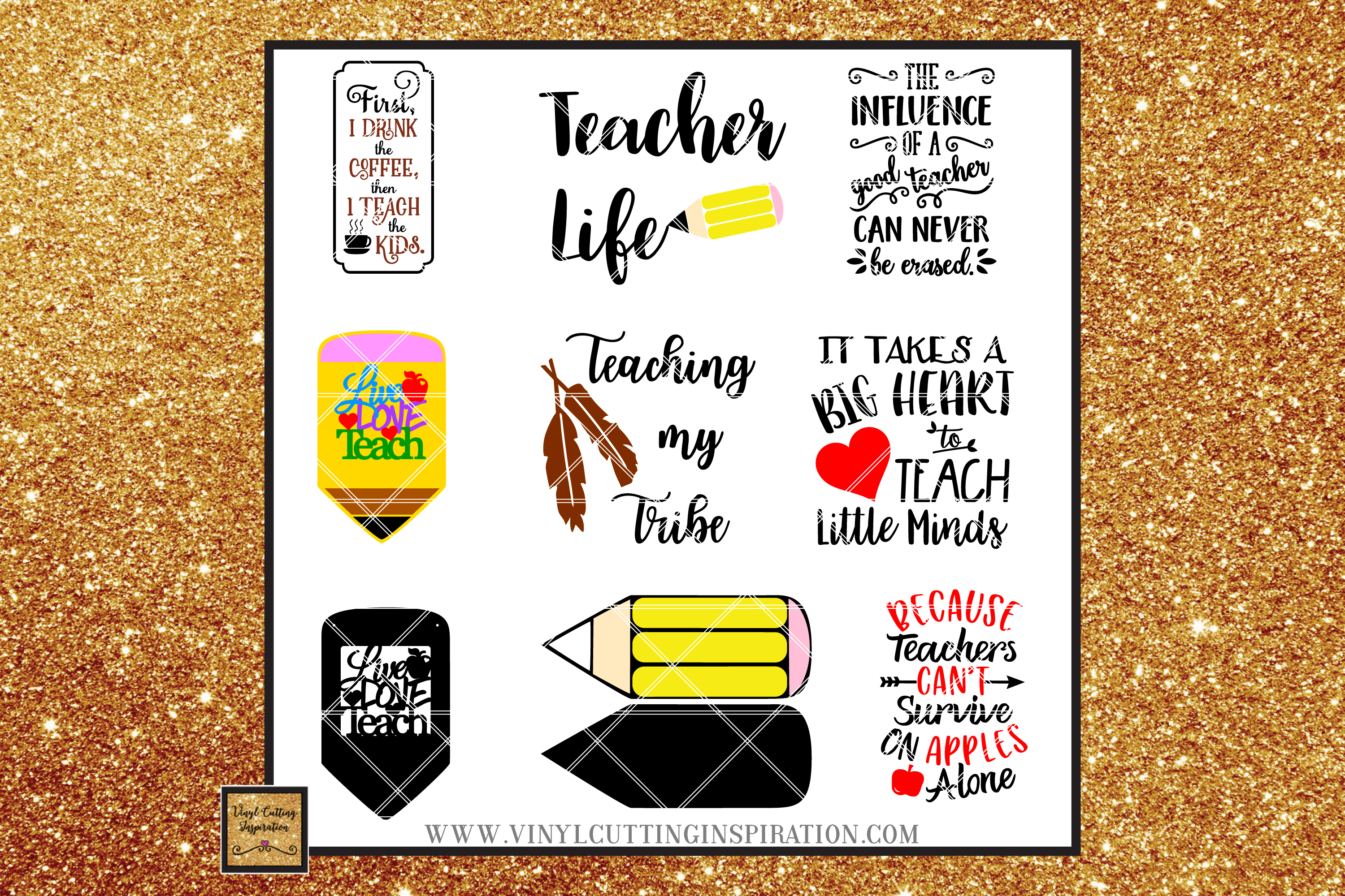73 DESIGNS!!! Teacher Svg Teacher Appreciation School Bus example image 5