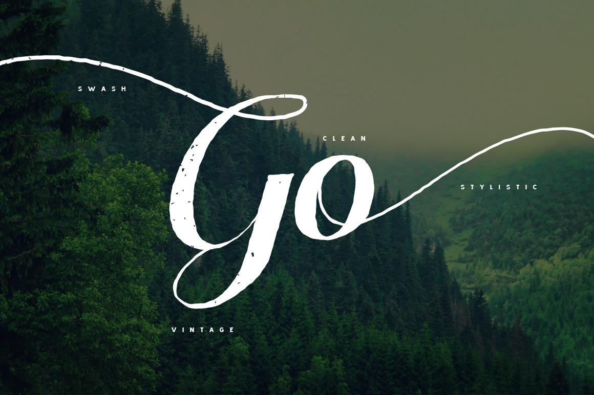 Pratiwi Typeface - Free Swashes example image 4