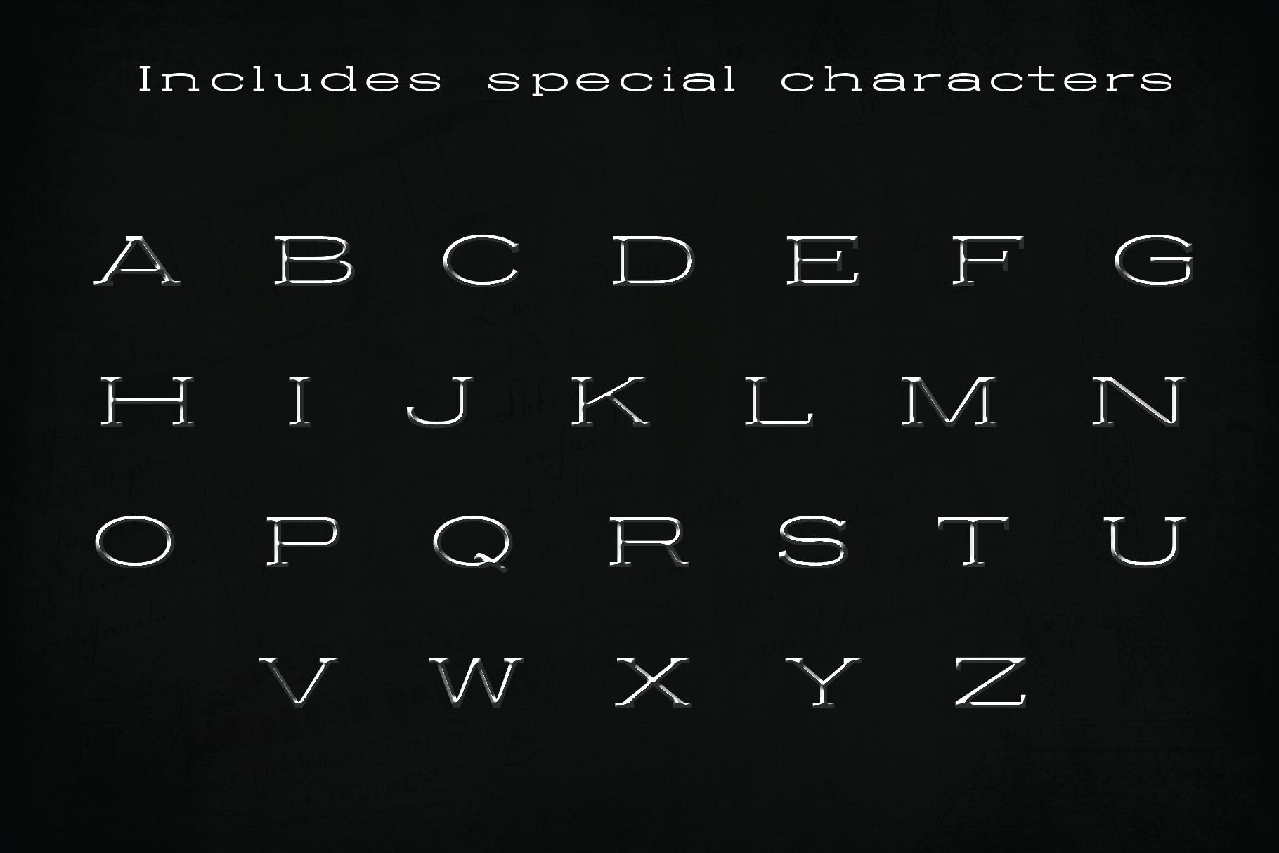 BALDWIN - A classy typeface example image 4