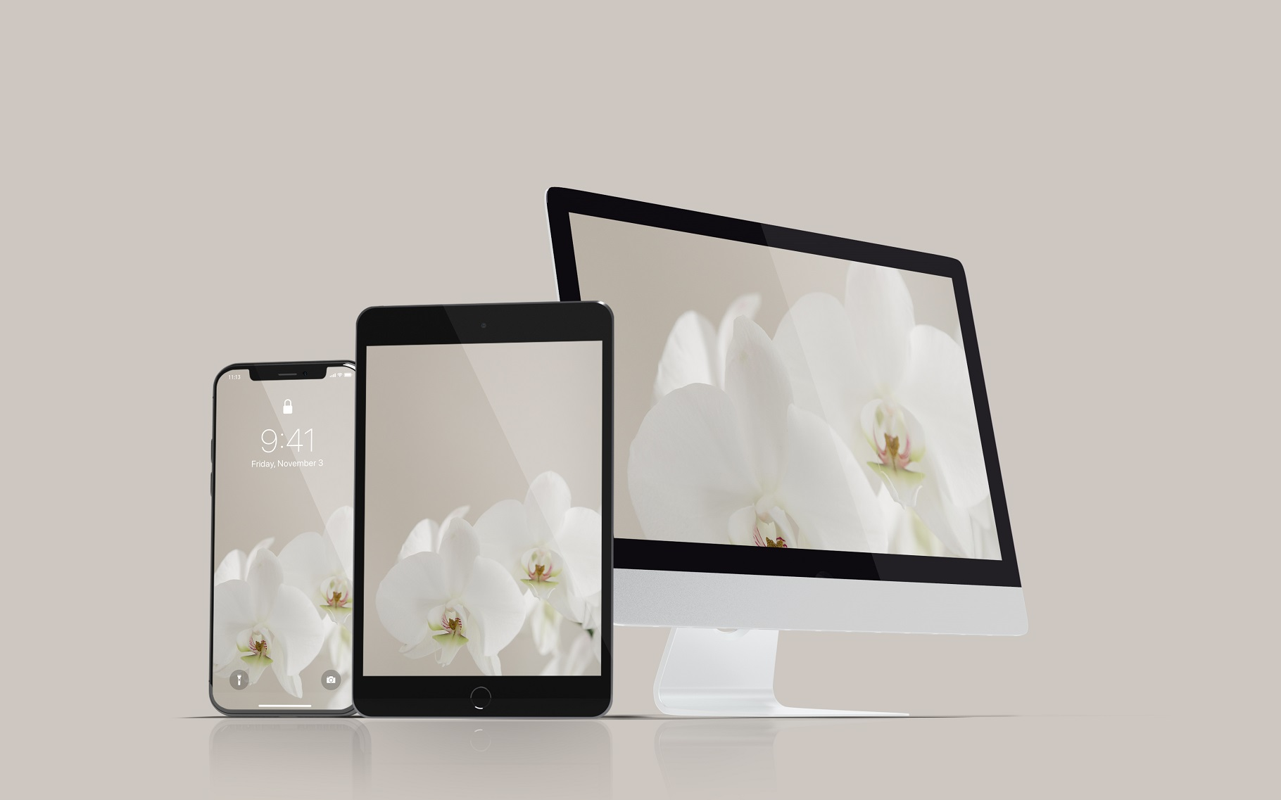 Multi Devices Website Mockup example image 3