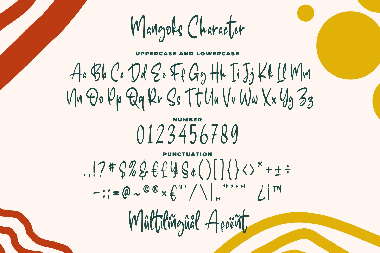 The Mangoks - Cute Handwritten Font example image 4