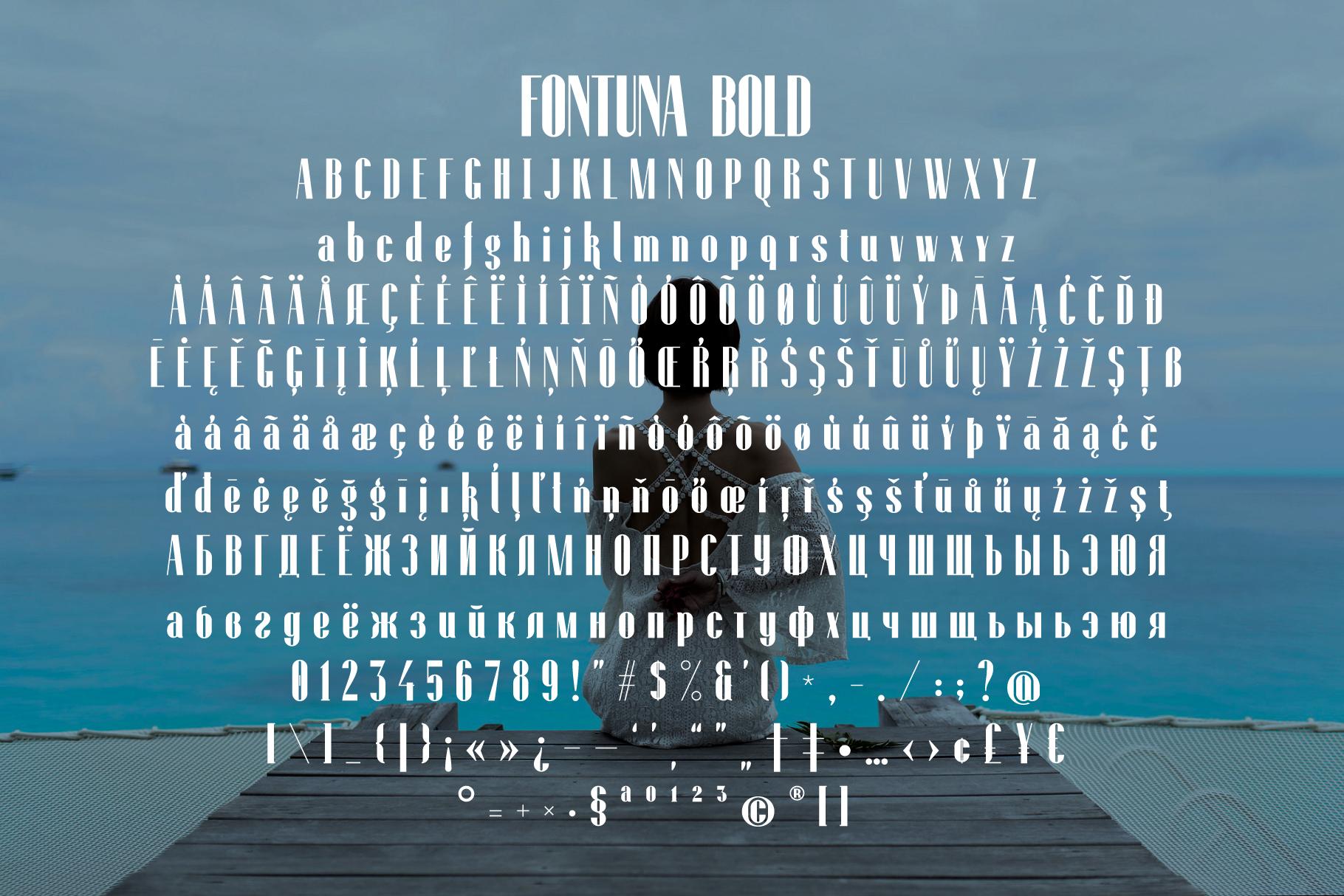 Fontuna bold example image 4
