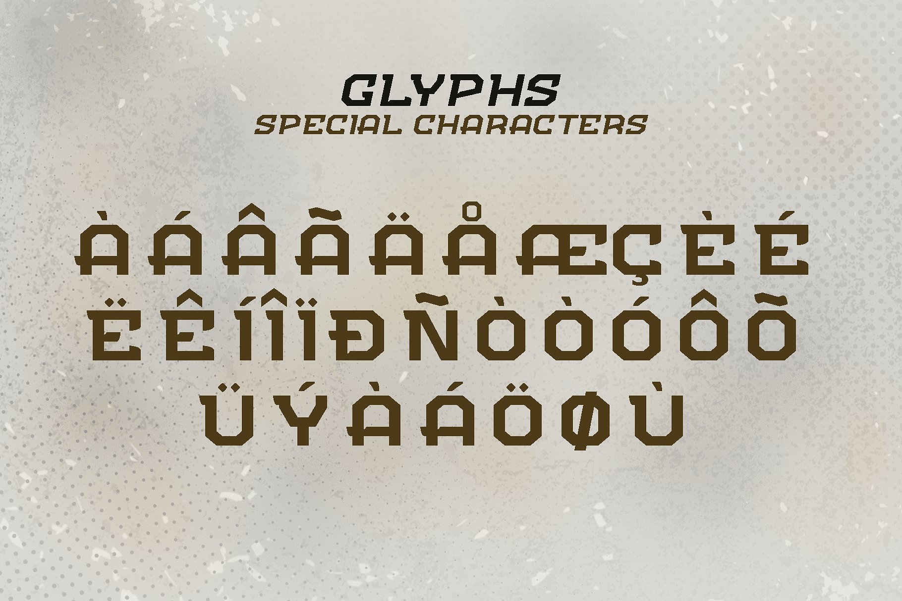 FLIPPER - NFC Font Family example image 5