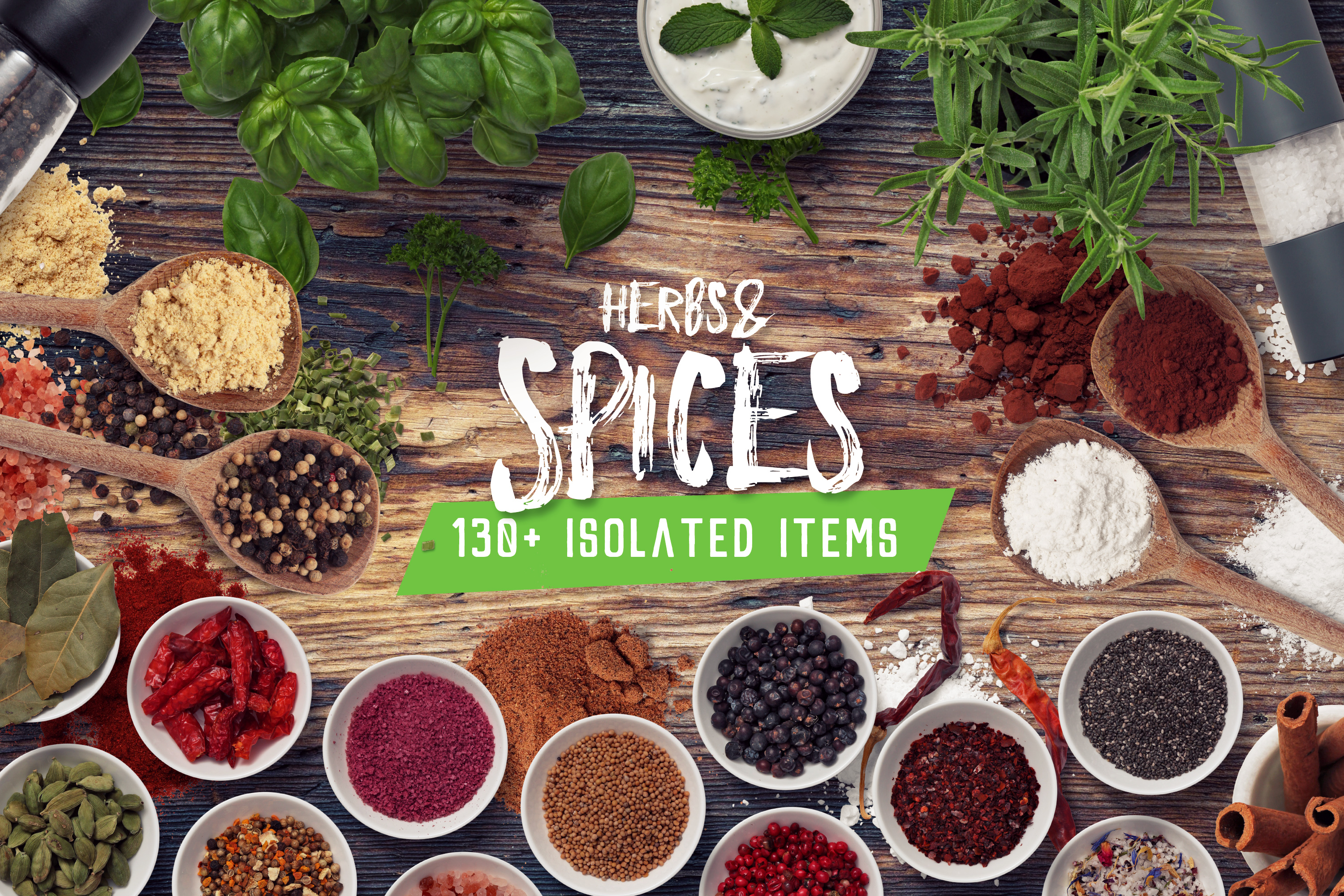 Herbs & Spices - Isolated Food Items example image 1