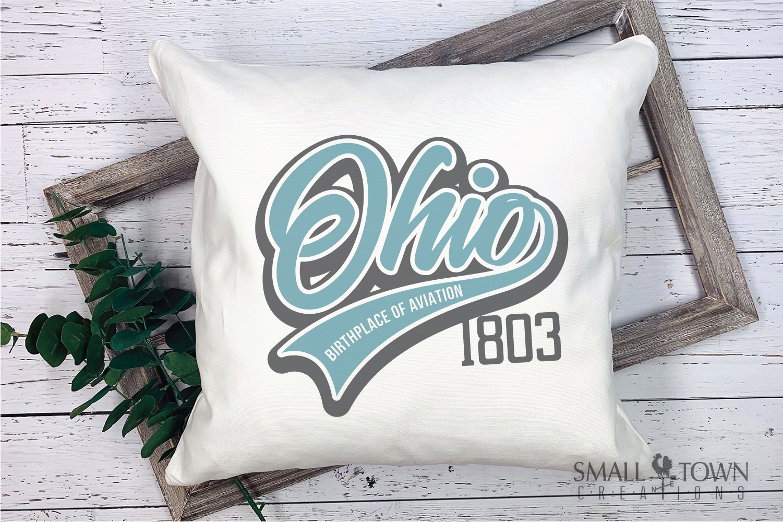 Ohio, Birthplace of Aviation - slogan, PRINT, CUT & DESIGN example image 3