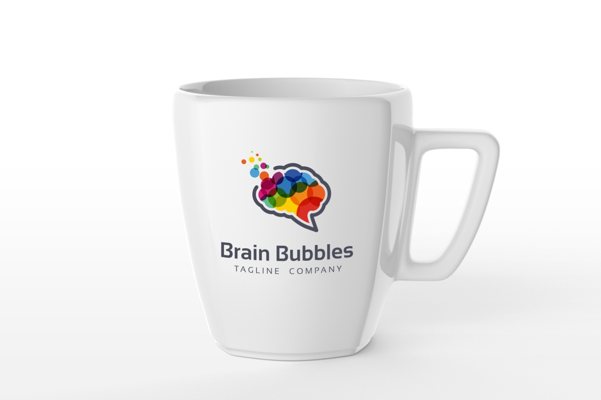 Brain Bubbles Logo example image 6
