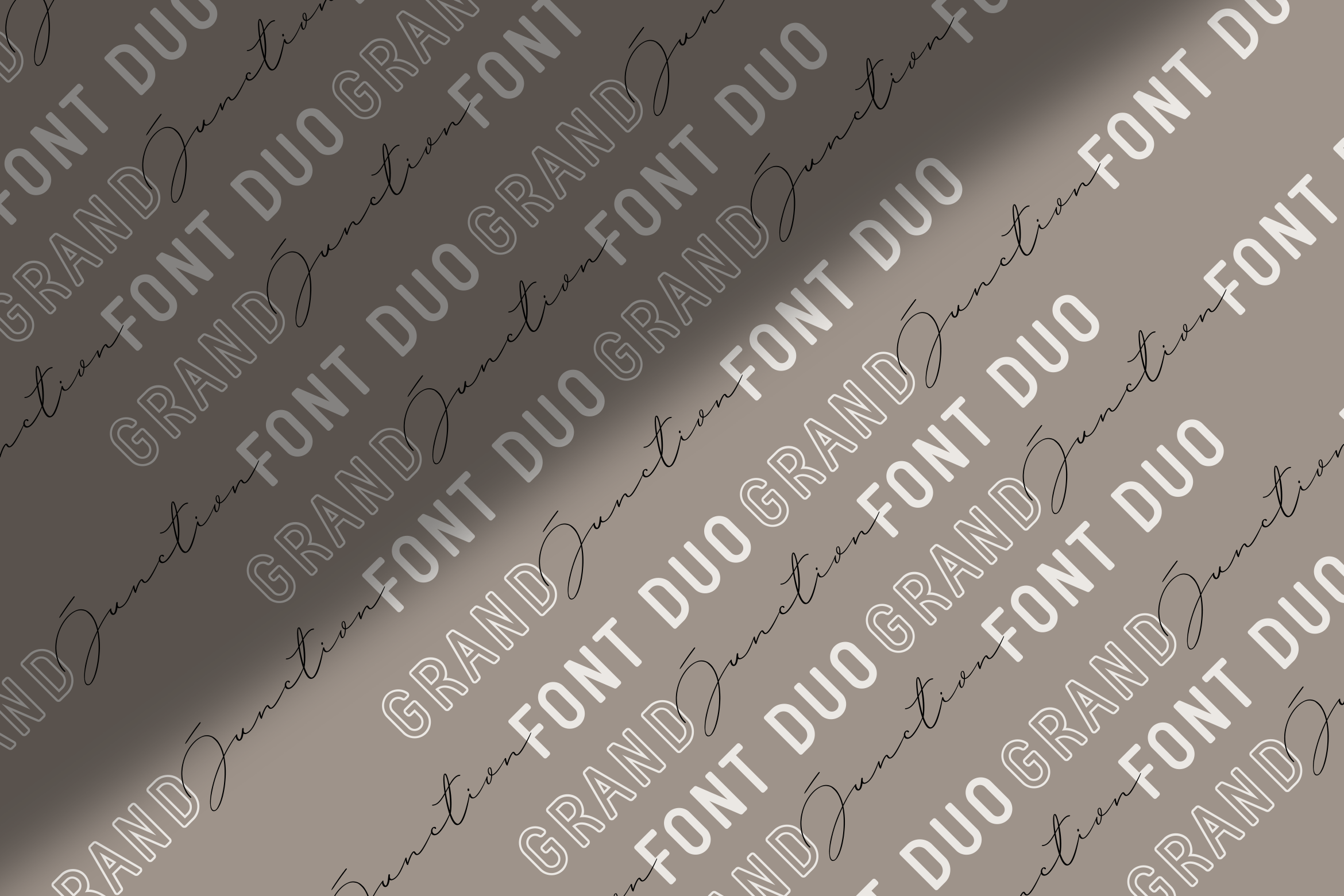 Grand Junction // Font Duo example image 6