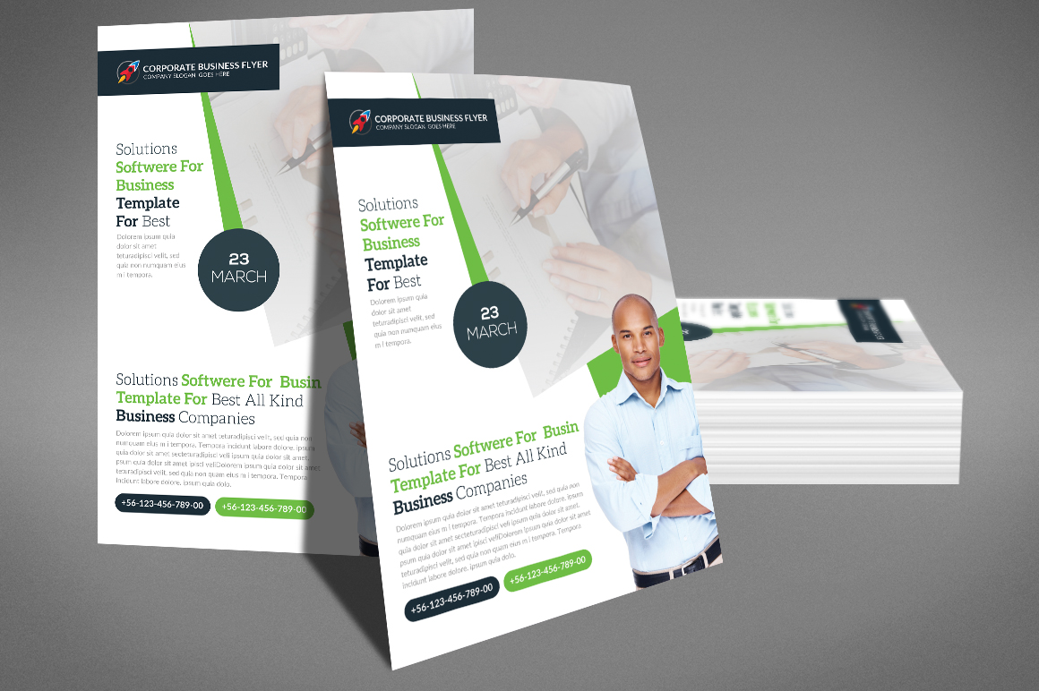 Business Flyer Psd example image 2
